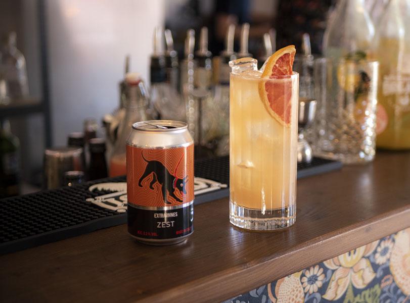 beer cocktail birra zest extraomnes