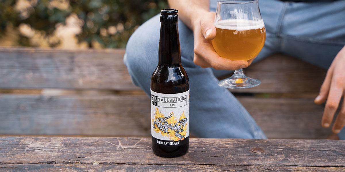 birra gose birrificio 61cento salemandra